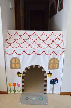 Maison de poupées ou théâtre de marionnettes avec des barres extensibles et 15 autres utilisations