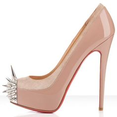 If You Feel Lose Something,Just Let The Christian Louboutin Asteroid 140mm Platforms Nude With You!