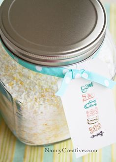 Homemade powdered laundry detergent - nancycreative.com