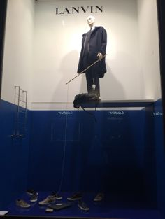 "LANVIN HOMME,Paris,France, ""Let's Go Fishing:a great party game idea or just a fun rainy day activity"", photo by The Window Lover, pinned by Ton van der Veer"