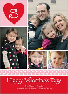 Be Mine Valentine's Card (the color block on bottom)