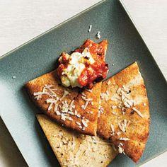 Toasted Parmesan Pita Crisps | CookingLight.com