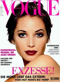 Christy Turlington Vogue Deutsch March 1995