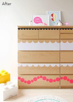 17 Creative DIY IKEA Malm Dresser Renovations | Shelterness