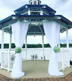 The perfect setting for your ceremony! Mercer County, County Park, My Dream Came True, Boathouse, Here Comes The Bride, Perfect Place, Greenery, Gazebo, Wedding Venues