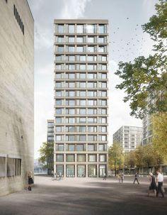"""Résultat de recherche d'images pour """"Miller & Maranta - Residential Building Schwarzpark"""""""