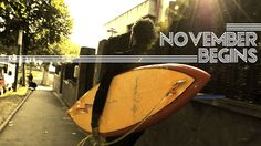 Lightning Bolt Pipeliner Surfboard Rider: Txaber Trojaola - November Begins