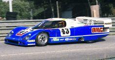 1985 WM P 83 B Peugeot (3.849 cc.) (T)  Claude Haldi  Roger Dorchy  Jean-Claude Andruet