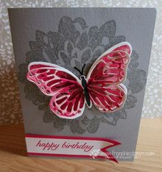 Stamp & Scrap with Frenchie: Watercolor Wings with Definitely Dahlia for Birthday
