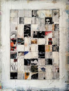 musee-des-pensees: (via Masterminds Artist of the Day, Jeffrey Thompson - San Francisco - Arts - The Exhibitionist) I like in this grid system, it is somewhat messy and doesn't overall make out an image but still has imagery for the overall subject. Collage Kunst, Collage Art, Tableau Pop Art, San Francisco Art, Mixed Media Collage, Medium Art, Altered Art, Paper Art, Cool Art