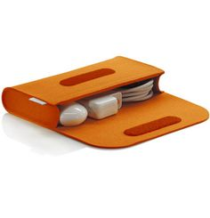 redmaloo | Cable Bag Felt Orange