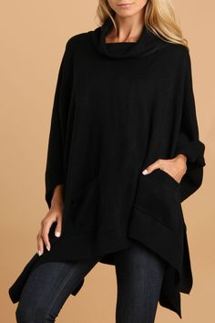 Di Firenze Shelly Knit Poncho