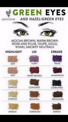 Makeup for green eyes can be done effortlessly and have you stunning all day long but you need to know the tricks at the tip of your fingers to look ... #MakeupGuide