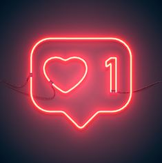 neon sign like heart , Wallpaper Iphone Neon, Neon Wallpaper, Aesthetic Iphone Wallpaper, Instagram Symbols, Instagram Logo, Neon Design, Graphic Design Flyer, Neon Quotes, Neon Logo