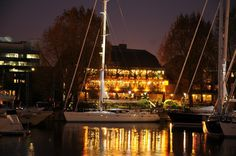 The beautiful Dickens Inn during the Oyster Yacht Show, organised by Gossip Consultancy Ltd