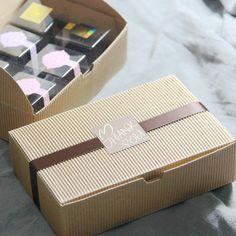 Cajas de Embalaje , cajas de torta / caja de galletas de Kraft regalo panadería papel YN  102404, alta calidad caja de plástico