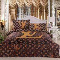 LV LOUIS VUITTON SATIN BEDDING SET | Bedroom/Bed/Closet in ...
