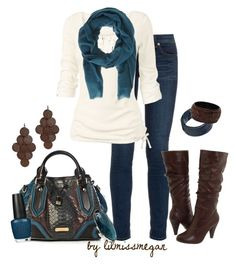 """""""Fall Handbags: Burberry"""" by lilmissmegan ❤ liked on Polyvore featuring rag & bone, Burberry, Volatile, Fat Face, Denis Colomb, Brahmin, Fantasy Jewelry Box, Style Tryst, Nordstrom and OPI"""