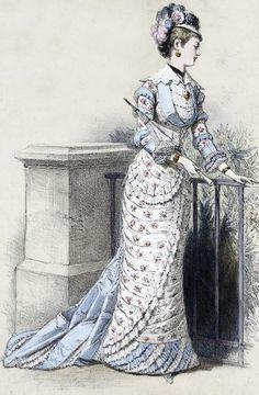 Source : Au Bonheur des Dames, Emile Zola, 1881 Gravures du magasin Au Bon Marché, XIXeme siècle Images de mode en 1880 : Collection Maciet, Bibliothèque des Arts Décoratifs