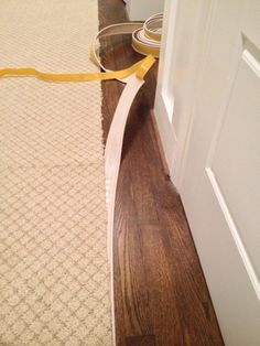 Quick Tip 34 How To Protect Carpet When Painting Baseboards Painting Baseboards Baseboards Painting Trim
