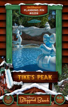 Walt Disney World Planning Pins: Tike's Peak