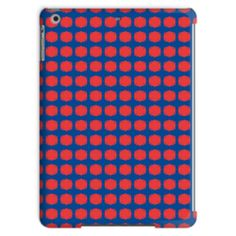 Blue & Red Tablet Case