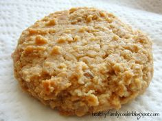 Healthy Family Cookin': Peanut Butter Oatmeal Cookies (Sugar Free)