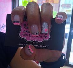 Cute Acrylic Nails, Cute Nails, Pretty Nails, Beauty Art, All Things Beauty, Hair And Nails, Nail Designs, Nail Polish, Girly