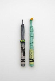 NYC Landmark Crayons by Diem Chau at the 2014 Toy Fair!