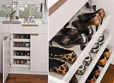 Onde Colocar os sapatos?