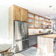 Turgeon project reveal - VALÉRIE DE L'ÉTOILE INTERIOR DESIGNER Kitchen Island, Kitchen Cabinets, Designer, Home Decor, Island Kitchen, Decoration Home, Room Decor, Cabinets, Home Interior Design