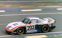 """luimartins: """"Le Mans 1986 Porsche 961 """""""