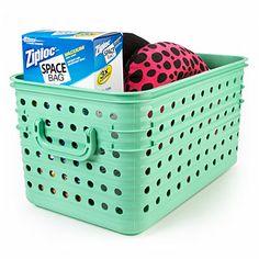 Medium Stacking Dot Baskets At Lots