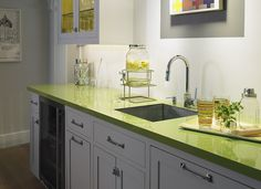 Superior Formica® Laminate 8820 Leaf Green. A Countertop To Match My KitchenAid U003d] |  Home. | Pinterest | Formica Laminate, Leaves And Countertop