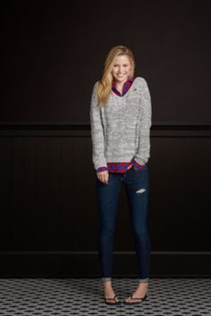Bettys So Cal Looks | HollisterCo.com  Perfect for the winter with some boots!