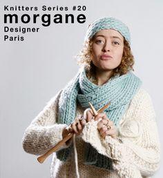 Knitters Series: Morgane Mathieu.