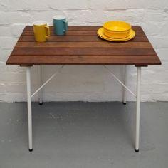 Vintage garden table vintageactually.co.uk