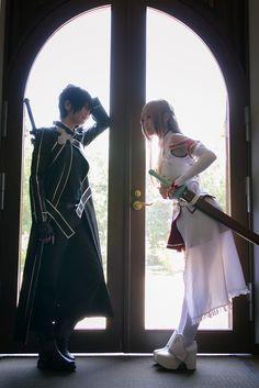 Kirito  Asuna | Sword Art Online #cosplay #anime