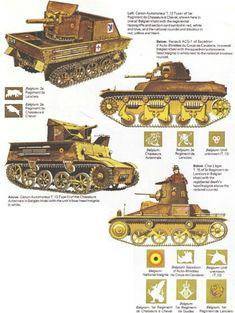 Ww2 belgian tanks