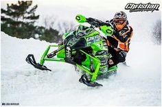 Arctic Cat race sled #snowmobiling