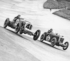 Brooklands Goddam that's racing!