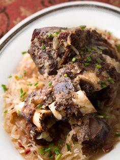 braised venison shank recipe