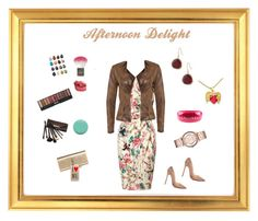"""""""Afternoon Delight"""" by harts2raines ❤ liked on Polyvore featuring Lipsy, Christian Louboutin, VILA, Yves Saint Laurent, Jin Soon, Topshop, Charlotte Tilbury, Karen Kane, Chanel and Borghese"""