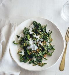 Andrew Weil's Kale Salad from True Food cookbook and restaurant.