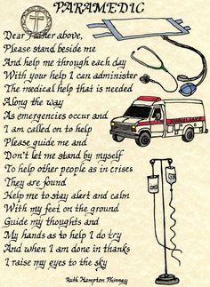 A Paramedic's Prayer