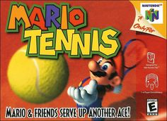 All of your favorite characters hit the court in a wild and wacky, multiplayer tennis game from the makers of Mario Golf. Mario, Luigi, Bowser, Peach, Toad, and Donkey Kong lead off the all-star, 14-player lineup. The fast-paced action will have you unleashing vicious volleys, life-saving lobs, ballistic backhands, and electrifying super-charged smashes!