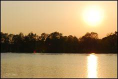 Coucher de soleil, Center Parcs