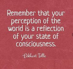 Consciousness •~• Eckhart Tolle