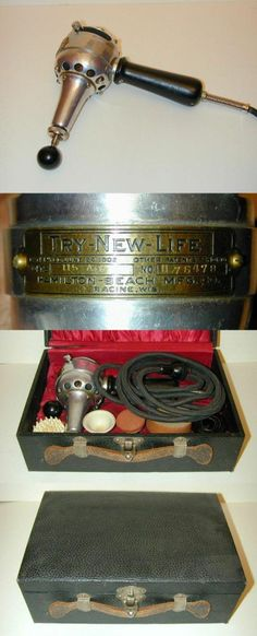 "Electric Vibrator for Female ""Nervous Disorders."" In case you need to ""cure your hysteria"" or malaise. Weird Science, Medical Science, Vintage Medical, Vintage Ads, Medical Equipment, Office Equipment, Doctor Office, Medical History"
