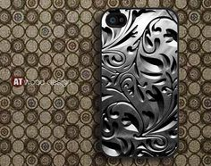 Case for black iphone 4 case iphone 4s case iphone 4 by Atwoodting, $14.99